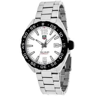 Tag Heuer Men's WAZ1111.BA0875 Formula 1 Round Silvertone Bracelet Watch