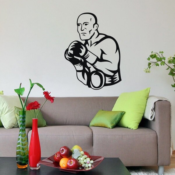 Boxing MMA GYM Vinyl Wall Art