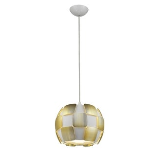 Access Lighting Layers LED 11-inch Pendant, Gold
