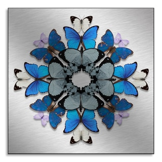 Gallery Direct NEO's 'Winged Blossom II' Print on Metal