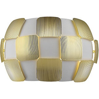 Access Lighting Layers 2-light Wall Sconce, Gold