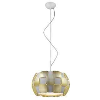 Access Lighting Layers 3-light 14-inch Pendant, Gold