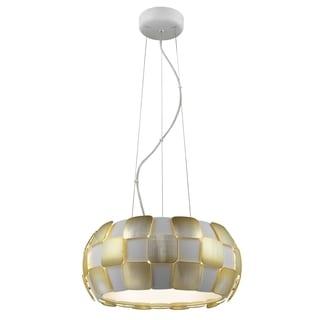 Access Lighting Layers 5-light 18-inch Pendant, Gold