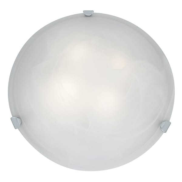 Access Lighting Mona LED 20-inch Wall/ Flush Mount, White