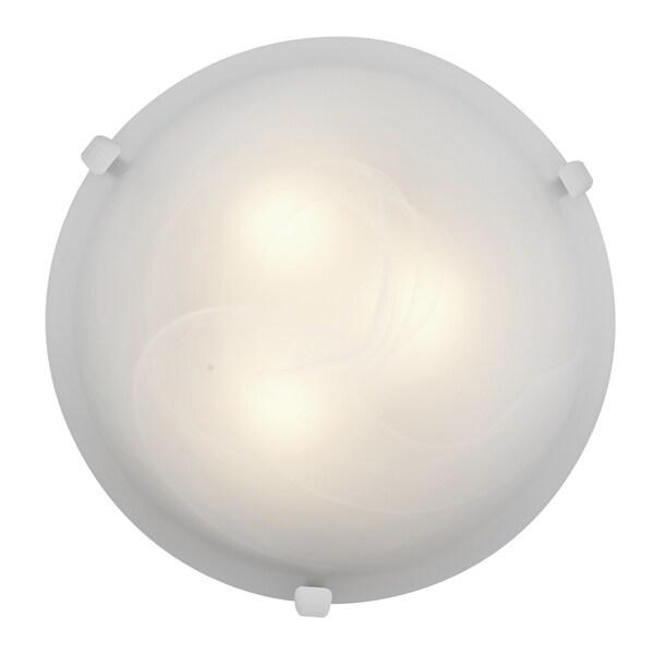 Access Lighting Mona LED 16-inch Wall/ Flush Mount, White