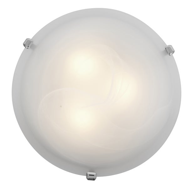 Access Lighting Mona LED 12-inch Wall/ Flush Mount, White