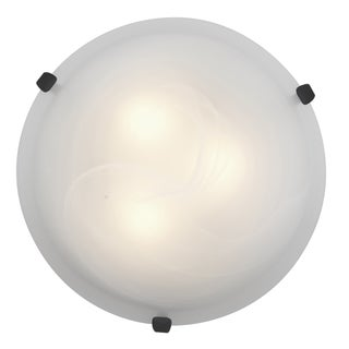 Access Lighting Mona LED 12-inch Wall/ Flush Mount, Rust