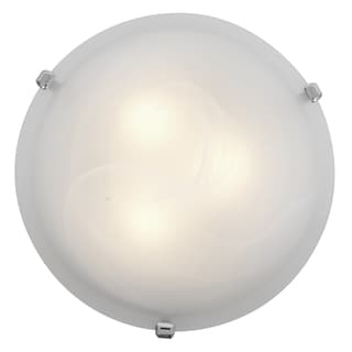 Access Lighting Mona LED 16-inch Wall/ Flush Mount, Chrome