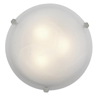 Access Lighting Mona LED 12-inch Wall/ Flush Mount, Steel