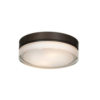 Access Lighting Solid 2-light 9-inch Flush Mount, Bronze