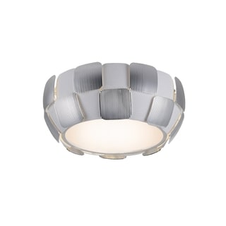 Access Lighting Layers 4-light 14-inch Flush Mount, Chrome