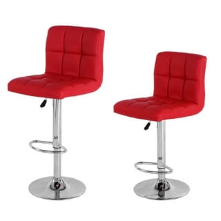 Manhattan Comfort Paladino Adjustable Bar Stool (Set of 2)