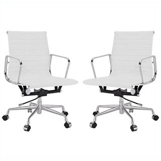 Aragon White Mesh Back Task Chair 14774293 Shopping The B