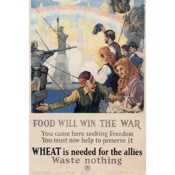 Marmont Hill Art Collective 'Food Will Win the War' Canvas Art