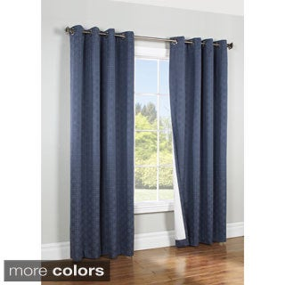 Irongate Grommet Top Insulated Blackout Curtain Panel