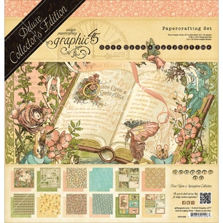 "Graphic 45 Deluxe Collector's Edition Pack 12""X12""-Once Upon A Springtime"