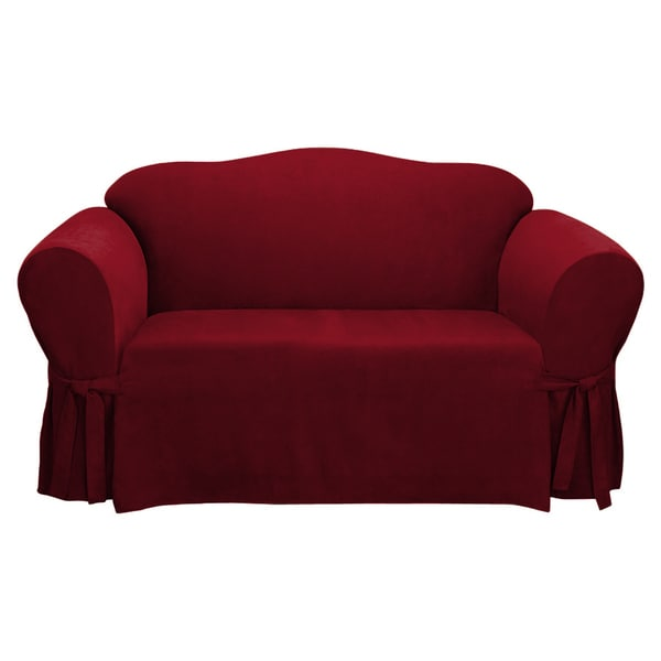 Easy Fit Microsuede Sofa Slipcover