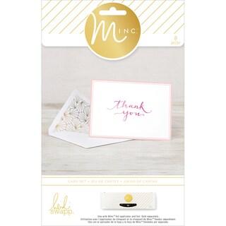 Minc Card & Envelopes 8/Pkg-Thank You