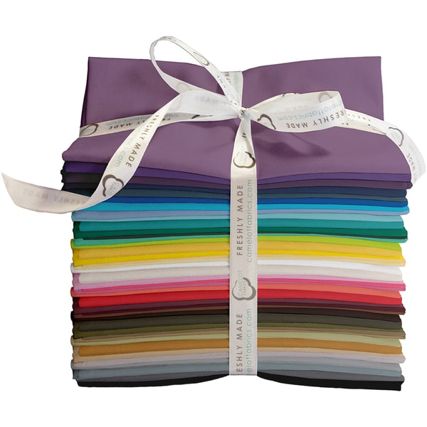 "Fresh Solids-Camelot Design Studio 18""X21"" Fat Quarters-Fresh Solids-42pcs"