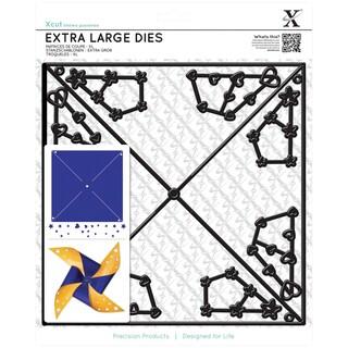Xcut Decorative Dies Extra Large-Large Straight Pinwheel
