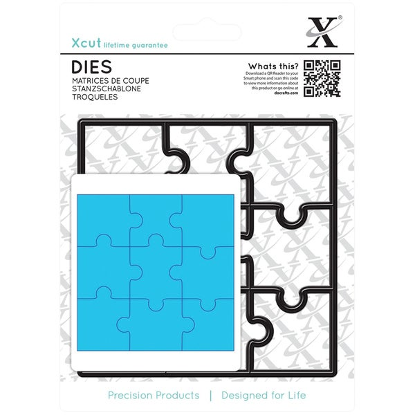 Xcut Die-Jigsaw Pieces