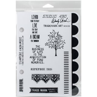Wendy Vecchi Cling Rubber Stamp -Trademark Art