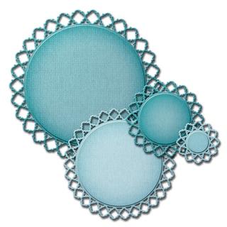 Spellbinders Nestabilities Decorative Elements Dies-Diamondessence