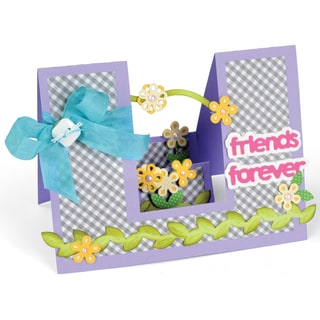 Sizzix Framelits Dies By Stephanie Barnard 23/Pkg-Step-Ups Friends Forever