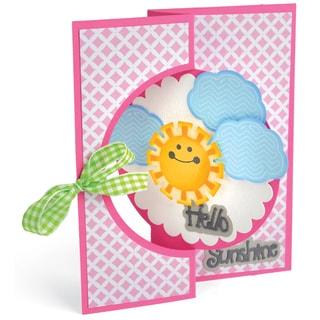 Sizzix Triplits Dies By Stephanie Barnard-Hello Sunshine, 13/Pkg