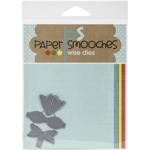 Paper Smooches Die-Baby Bow
