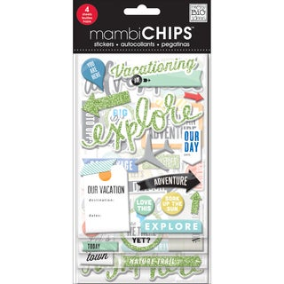 Chipboard Value Pack-Vacation