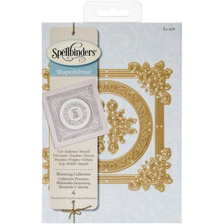 Spellbinders Shapeabilities Dies-Blooming Collection
