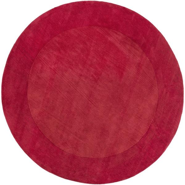 Surya Hand-Loomed Belper Solid Wool Rug (8' Round)