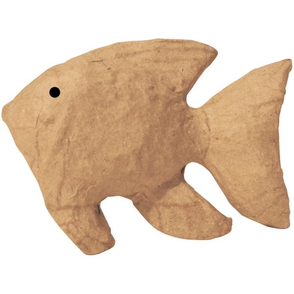 Paper-Mache Figurine -Tropical Fish