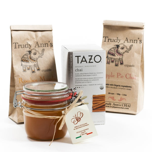 Organic Tea and Honey Collection