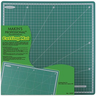 "Makin's Clay Cutting Mat 13.78""X13.78""-Large"