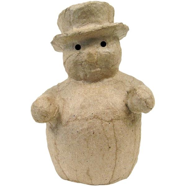 Paper-Mache Figurine -Snowman