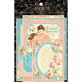 Precious Memories Ephemera Cards 4inX6in 32/Pkg