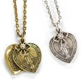 Sweet Romance Lord's Prayer Religious Pendant Necklace