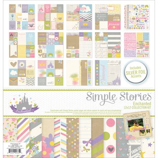 "Simple Stories Collection Kit 12""X12""-Enchanted"