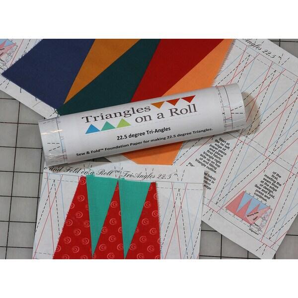 Sew & Fold 50'-60 Degree Tri-Angles