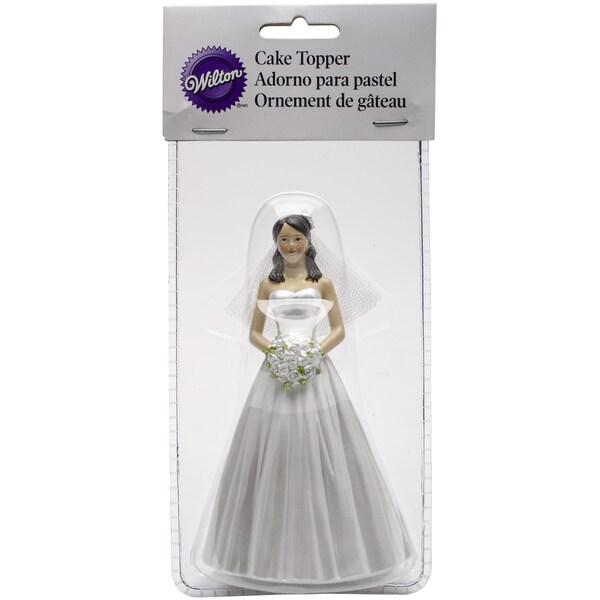 Cake Topper Bride W/Updo