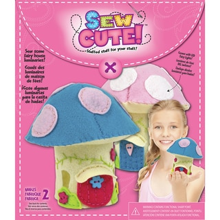 Sew Cute LED Fairy House Sewing Kit