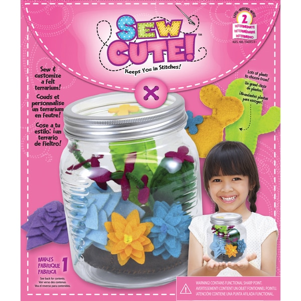 Sew Cute Terrarium Sewing Kit