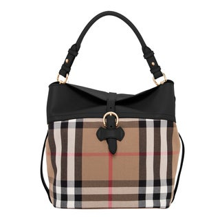 Burberry Sycamore Hobo with Horseshoe Leather