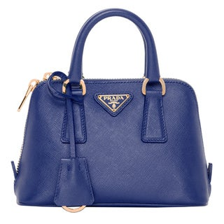 Prada Mini Saffiano Leather Dome Bag