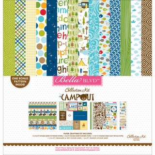"Bella Blvd Collection Kit 12""X12""-Campout"