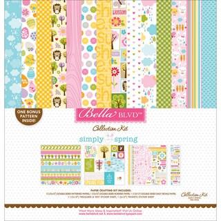 "Bella Blvd Collection Kit 12""X12""-Simply Spring"