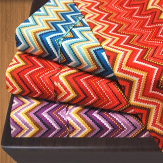 1800 Wrinkle Resistant Zig-Zag Sheet Set