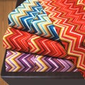 Luxor Treasures 1800 Wrinkle Resistant Zig-Zag Sheet Set